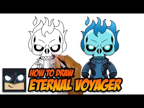 How To Draw Fortnite | Eternal Voyager