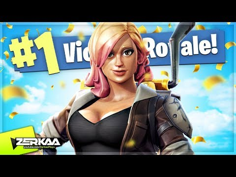 TRYING TO WIN SOLO! (Fortnite Battle Royale)