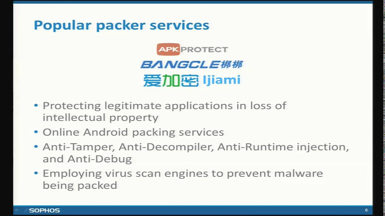 Android packer: facing the challenges, building solutions