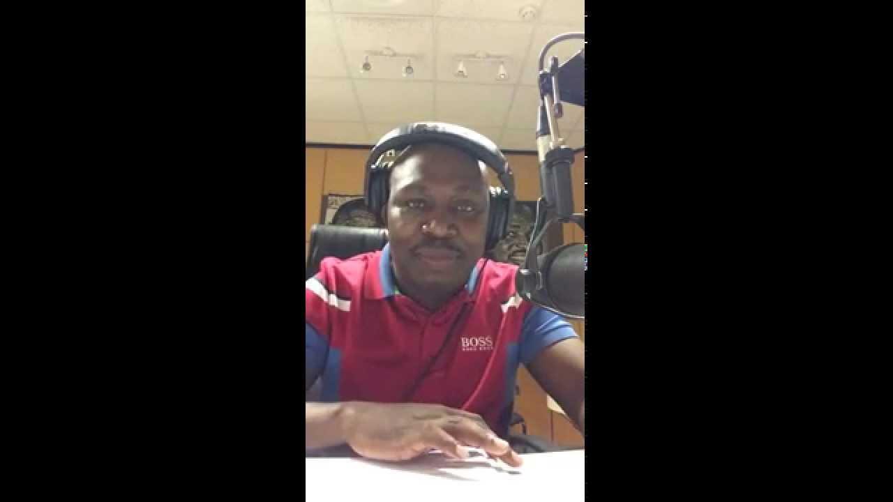 DJ Sgqemeza live broadcast 2014