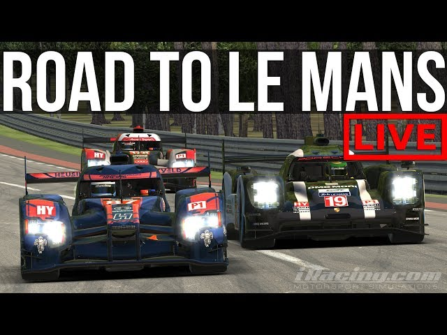 iRacing - 6 Hours Of Le Mans With The Lads