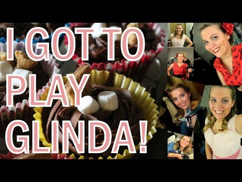 I GOT TO PLAY GLINDA!! | Sarah Douglas