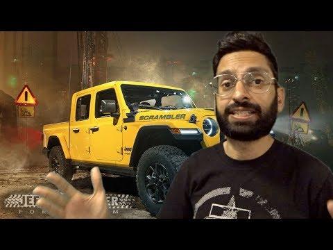 2019 Jeep Scrambler Revealed