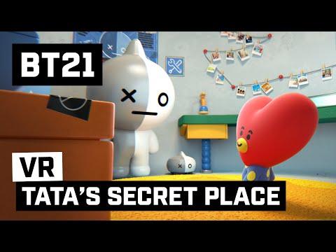 [BT21] TATA's SECRET PLACE - 360 VR