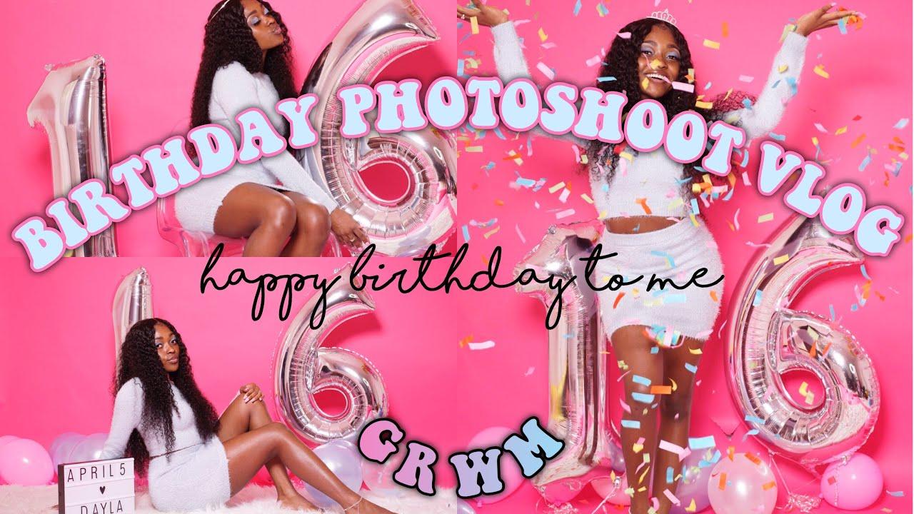 16th Birthday Photoshoot Vlog Grwm Daylawebster Youtube Photo ideas for 16th birthday   a cowboy's life. 16th birthday photoshoot vlog grwm