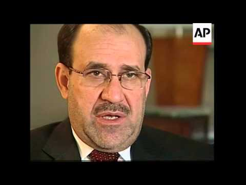 AP intv with Iraqi PM Nouri al-Maliki