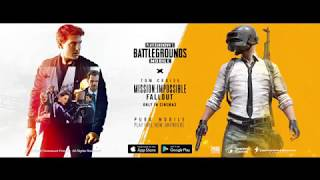 PUBG Mobile X Mission Immposible Fallout