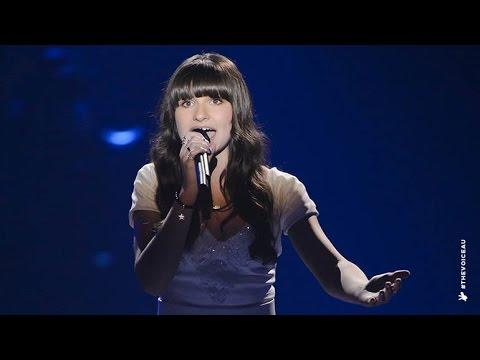 Bella Sings Let It Go  The Voice Kids Australia 2014
