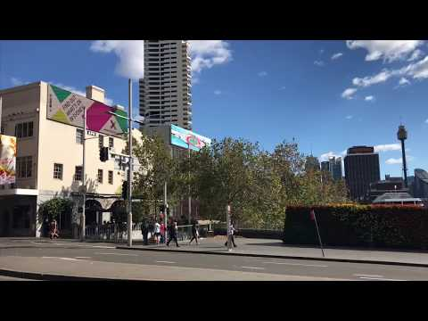 TRAIN AND BUS TRIP TO WORK // SYDNEY AUSTRALIA