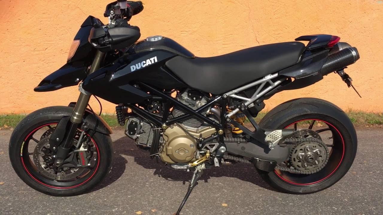 ducati hypermotard 1100 s termignoni auspuff motobike. Black Bedroom Furniture Sets. Home Design Ideas