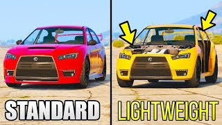 GTA 5 - Does Extra Weight Make Your Car Slower? (GTA 5 Online)