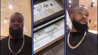 Tyron Woodley Hits Casino and Jewelry Store In los Vegas