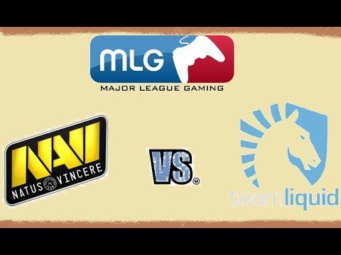 Na`Vi vs Liquid - BO1 [MLG Columus] Major League Gaming v1lat Русские Комментарии