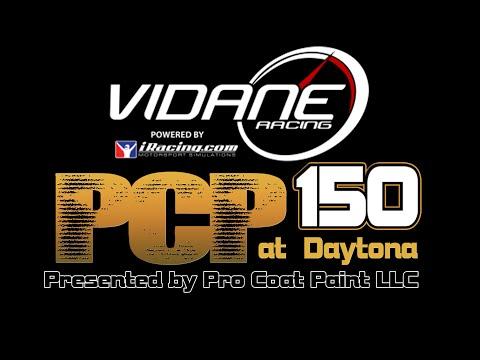 Vidane PCP 150 at Daytona Presented by Pro Coat Painting LLC