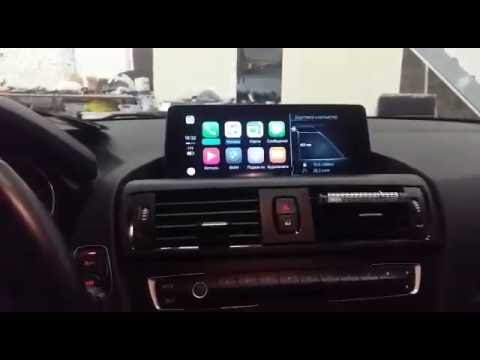 CarPlay NBT EVO in BMW F20