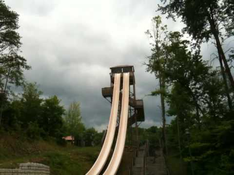 Fire Tower Falls - Dollywood Splash Country