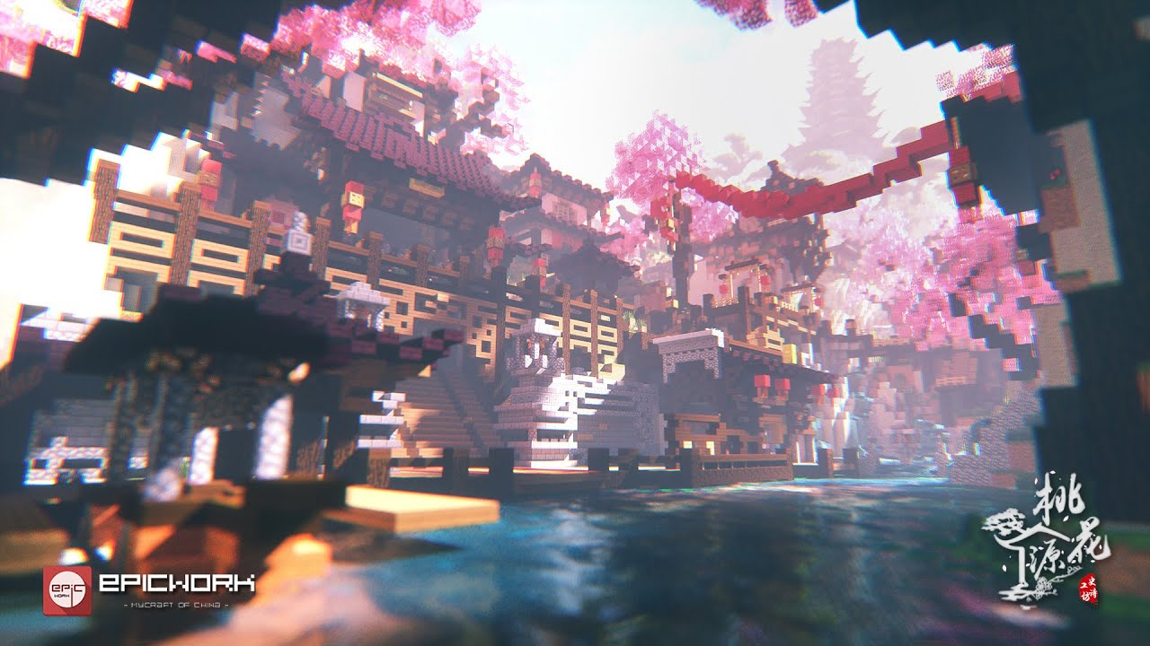 3k In Miles >> 【Minecraft】Epicwork Production--The Peach Blossoms - YouTube