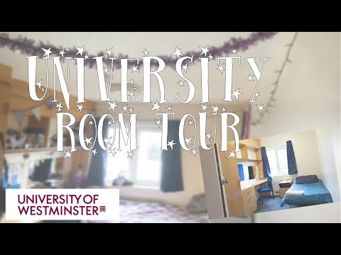 University Accommodation Tour | Uni of Westminster