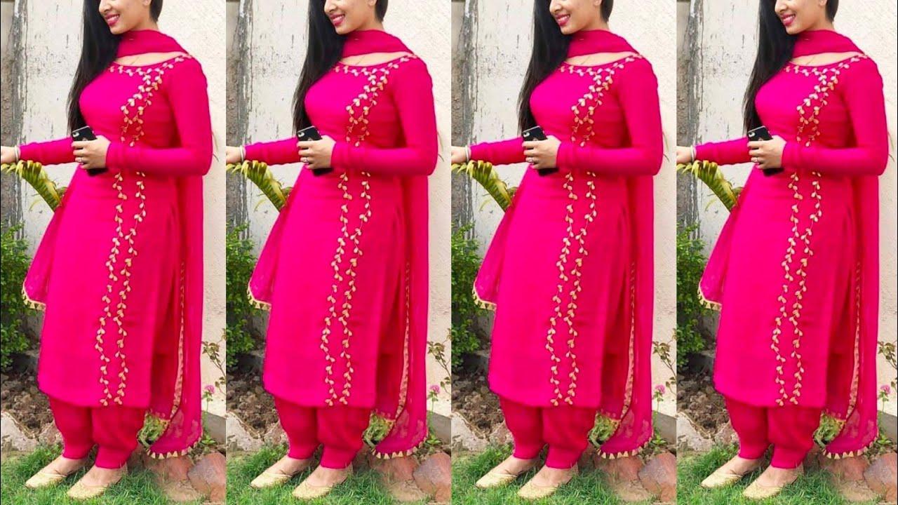 Top 25 Punjabi Suit Design New Salwar Suit Design Suit Design Ideas 2020 Summer Punjabi Suit Youtube