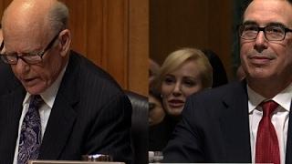 """GOP Senator """"Offers Valium"""" at Mnuchin Hearing"""