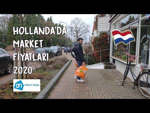 Hollanda'da Market Alışverişi 2020 | Evde Pratik Yemek ve Atıştırmalıklar