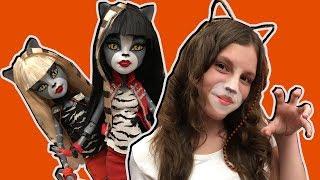 ЛЮБИМЫЕ ВСЕМИ КОШЕЧКИ куклы Монстер Хай монстряшки Пурсефона и Мяулодия базовые Monster High dolls