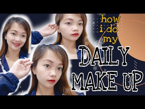 IWAS #PIMPLES + #SIMPLE #EVERYDAYMAKE UP 2019