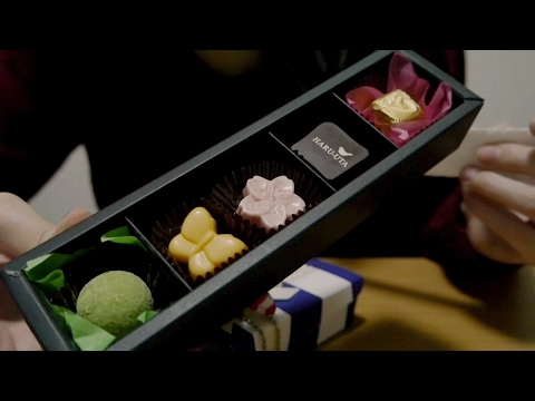 [Japanese ASMR] 囁き声でチョコの紹介とバレンタイン雑談、咀嚼音 Chocolate Eating, Whispering