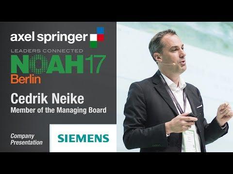 Cedrik Neike, Siemens - NOAH17 Berlin