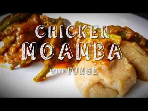 Receita Moamba de Galinha | Recipe Chicken Moamba - Angolan Dish | Traditionally made