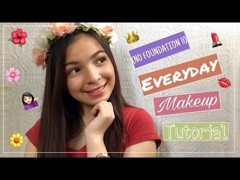 Everyday Makeup Tutorial (NO FOUNDATION) – EASY + Basic Skincare? // Philippines | Aimee Aquino