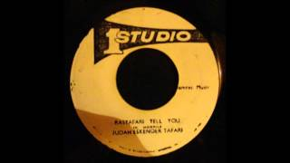 Judah Eskender Tafari - Rastafari Tell You 7""