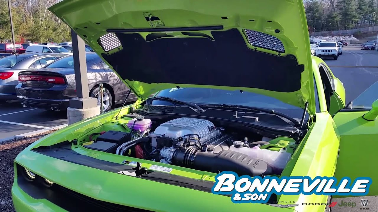 Bonneville And Son >> Challenger Srt Hellcat At Manchester Nh Bonneville And Son Youtube