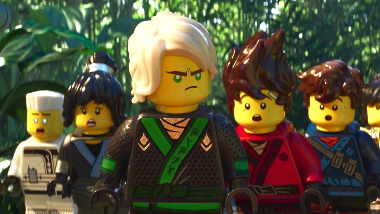 The LEGO Ninjago Movie Videogame - Walkthrough Part 4 - The Jungle ...