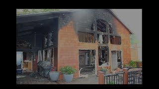 Firefighters Share Story of Bailout Rescue During House Fire