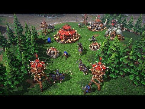 Gameplay-Trailer von Warcraft III: Reforged (DE)
