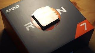 ارخص و افضل معالج للمونتاج و الالعاب 4K - مراجعة AMD Ryzen 7 1700 رايزن اي ام دي كسرت راس انتل رايزن