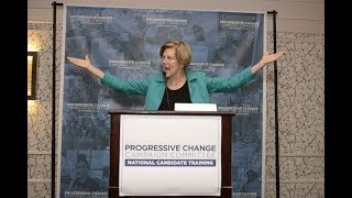 Elizabeth Warren keynotes PCCC 2017 National Candidate Training