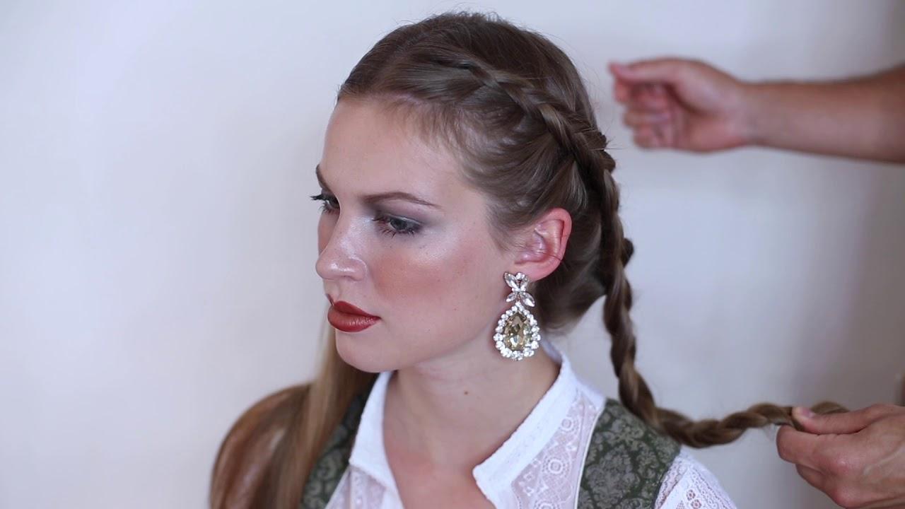 Elegante Dirndl Frisur