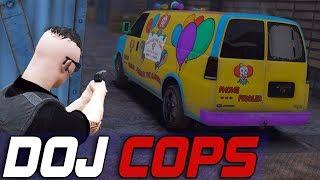 Dept. of Justice Cops #585 - Los Santos Clown Attacks