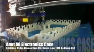 Anet A8 Electronics housing Time lapse