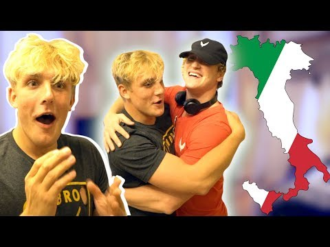 Thumbnail: I FLEW TO ITALY TO SURPRISE MY BROTHER!