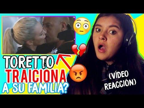 REACCIÓNANDO AL TRAILER de RÁPIDO Y FURIOSOS 8 / TORETO TRAICIONA A SU FAMILIA!!! :O (+Saludosss)