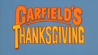11. Garfield&#39s Thanksgiving19891122 special ep