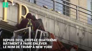 Un immeuble de plus à New-York fait retirer le nom de Trump de sa façade