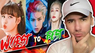Rapper Reacts to WORST to BEST RAPS in KPOP Of 2020 (BTS, Stray Kids, NCT, + More!) UPDATED!