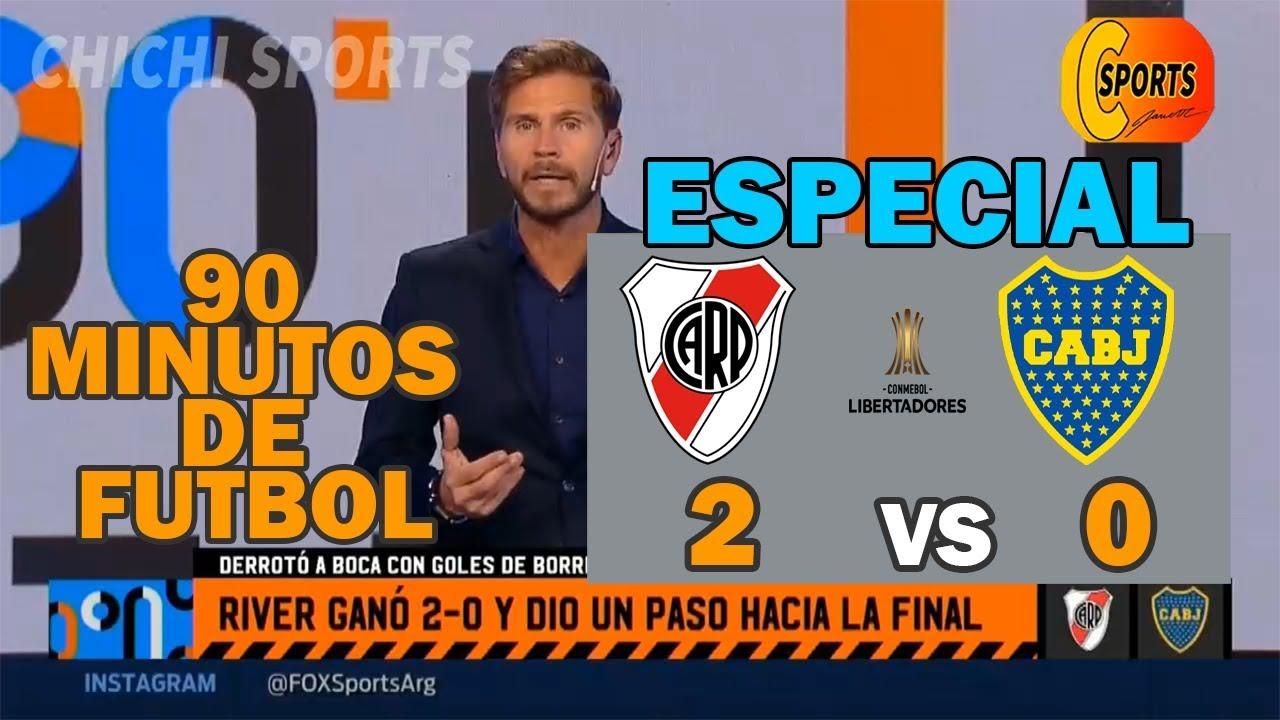 90 Minutos De Futbol En Vivo Por Internet 90 minutos de fÚtbol especial2 de octubre 2019 editorial de pollo  vignolo,river gana a boca 2 a 0