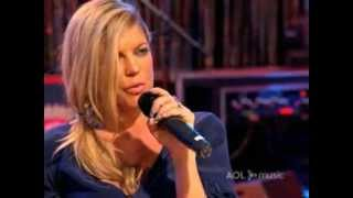 Fergie - Big Girls Don't Cry - AOL Sessions