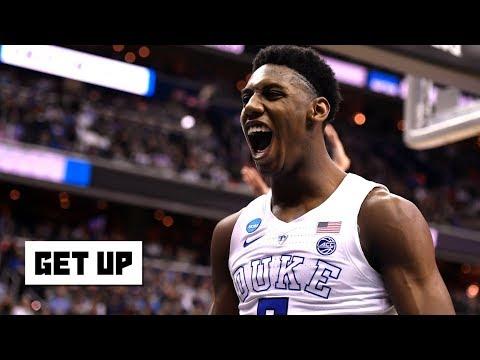 Drafting RJ Barrett Is The Knicks' Focus Despite Darius Garland Workout - Woj   Get Up