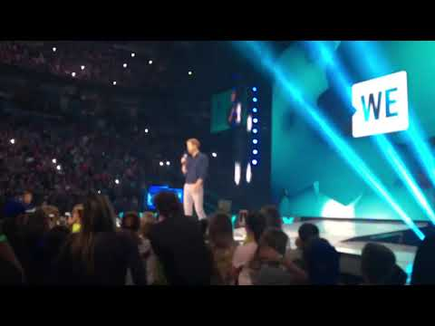 Prince Harry's inspiring words at We Day!